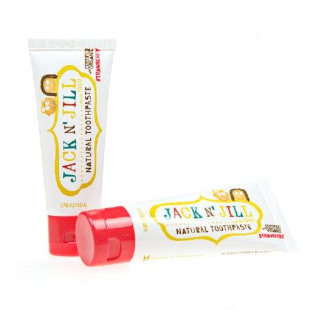 吉克吉尔 Jack n'jill 可吞食天然儿童牙膏 草莓味 美国进口 50g/支