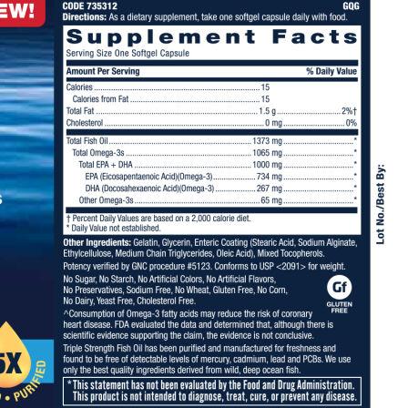GNC健安喜 深海鱼油软胶囊60粒 调节三高降血糖欧米伽-3深海鱼油 进口 鱼油 欧米伽 3s 1065mg 60粒*1