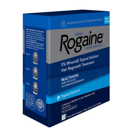 全球购 Rogaine 男性防脱发洗发护发育发头发再生男士 美国直邮