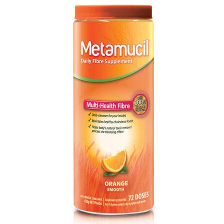 美达施( Metamucil ) 膳食吸油纤维素 香橙幼滑口味 72次装
