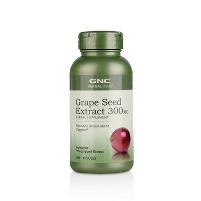 GNC 健安喜 葡萄籽胶囊 300毫克 100粒