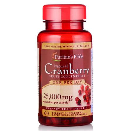 普丽普莱 Puritan's Pride 蔓越莓提取物胶囊500mg*60粒/瓶