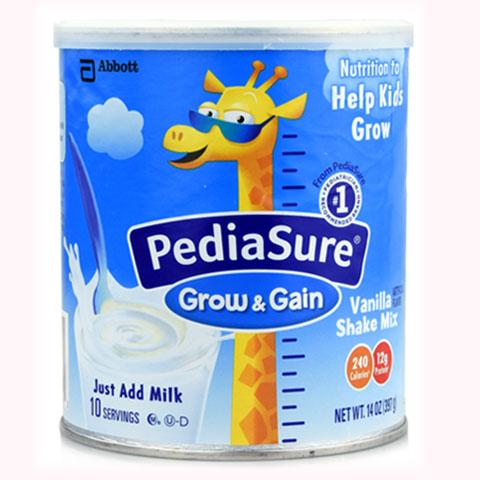 美国进口雅培 PEDIASURE小安素儿童强化营养奶粉 397克